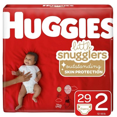 Huggies Little Snugglers Diapers - Size 2 (29ct)