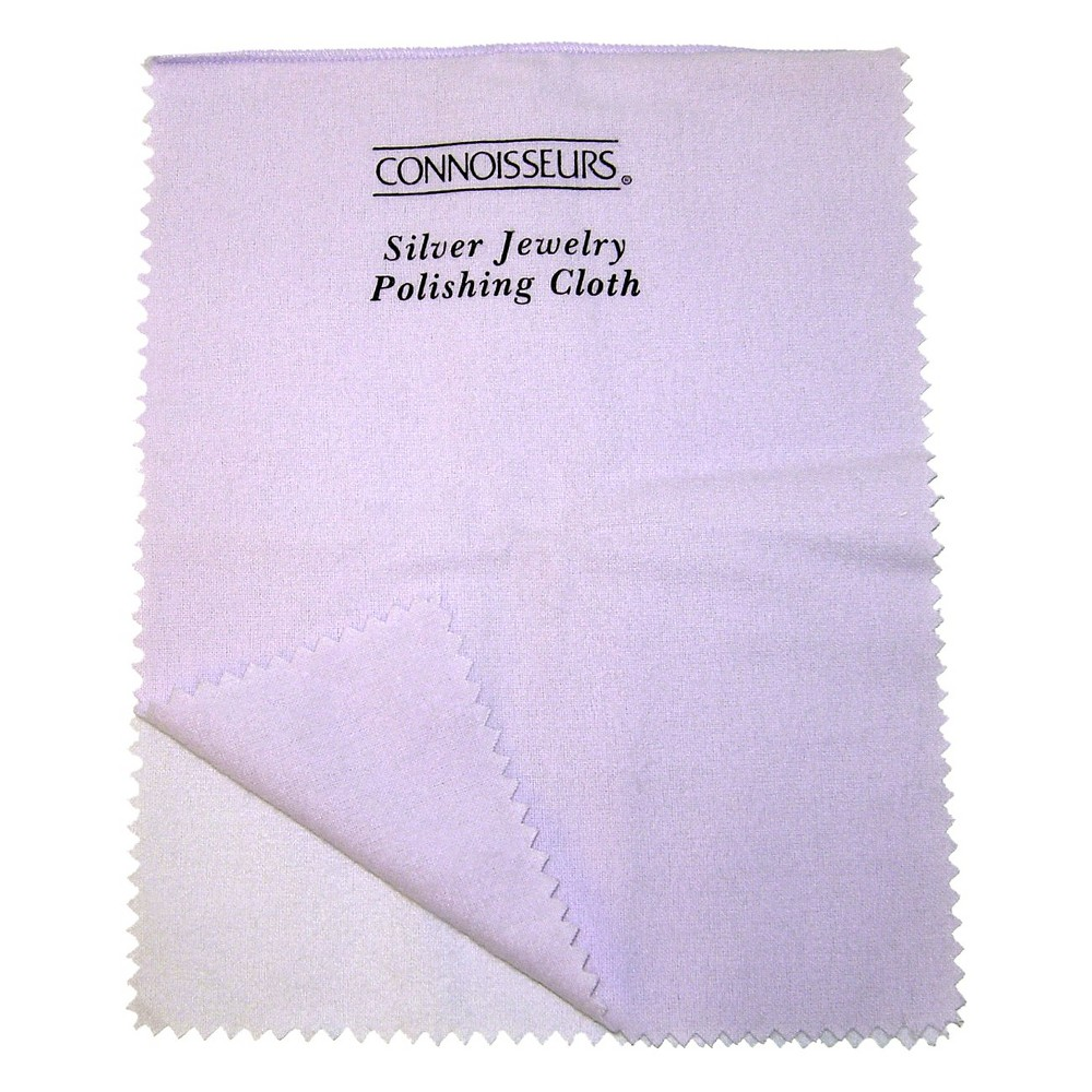 Image of Connoisseurs UltraSoft Silver Jewelry Polishing Cloth