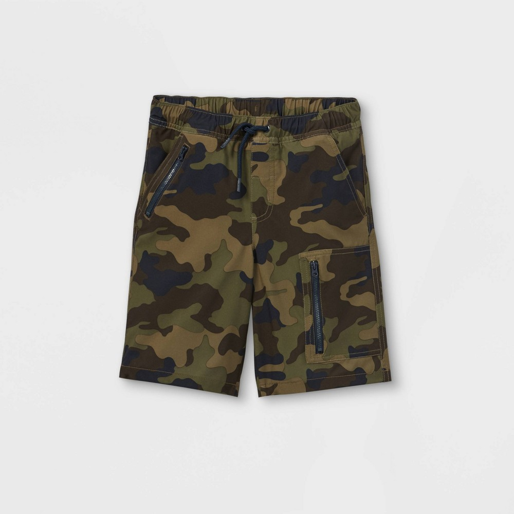 Boys 39 Quick Dry Pull On Shorts Cat 38 Jack 8482 Green M