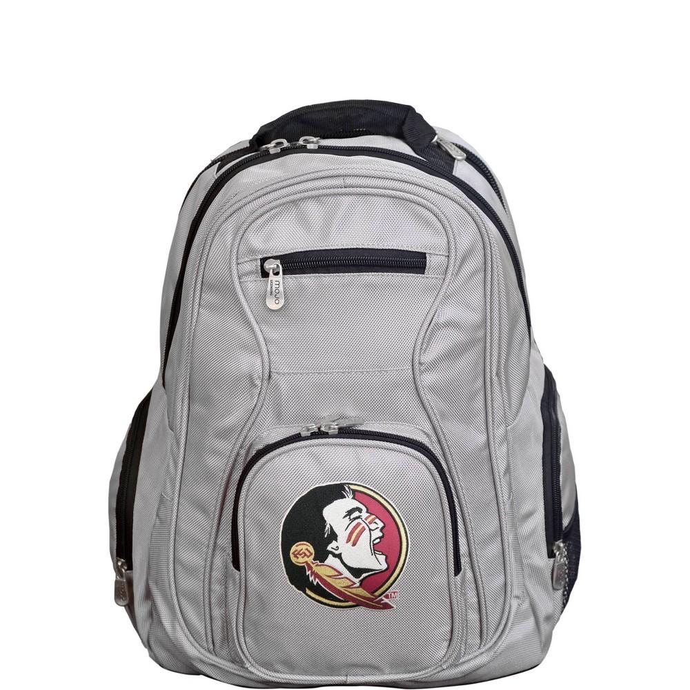 NCAA Florida State Seminoles Gray Premium Laptop Bag