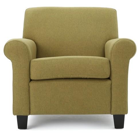 Peachy Yonkers Upholstered Club Chair Light Green Christopher Knight Home Short Links Chair Design For Home Short Linksinfo