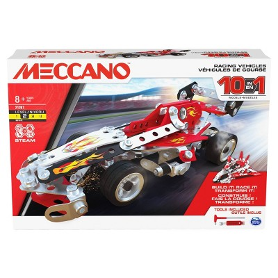 Meccano 10 Multi Model Set - Racing Vehicles