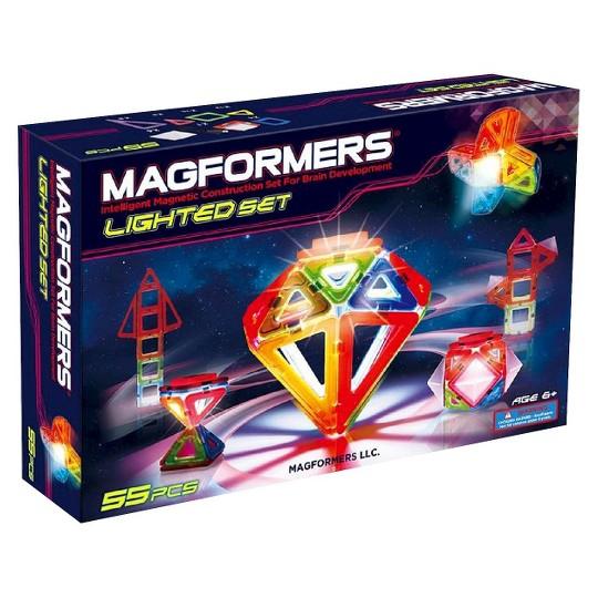 Magformers Lighted Set, magnetic building sets image number null