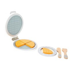 Small Foot Wooden Toys Waffle Iron With Waffles Playset