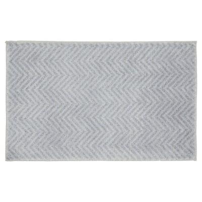 Palazzo Bath Rug - Silver - (21 x34 )- Garland Rug