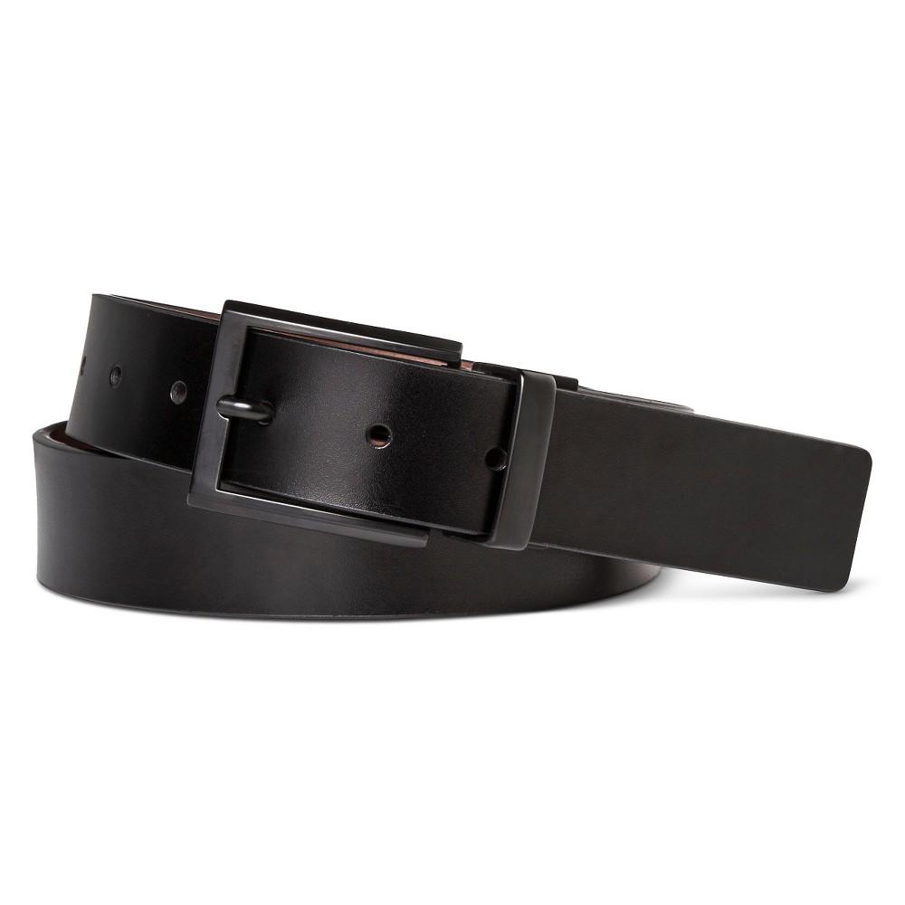 Best Review Swissgear Men Matte Buckle Reversible Belt BlackBrown L Size L36 40 Black Brown
