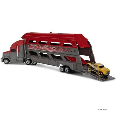 Micromachines Mini Vehicle Hauler - Red