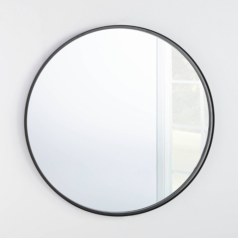 "34"" Round Decorative Wall Mirror - Threshold™ designed with Studio McGee - image 1 of 3"