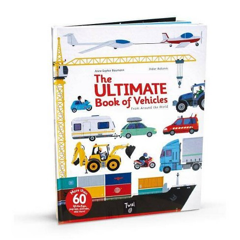 The Ultimate Book of Vehicles - (Hardcover) - image 1 of 1