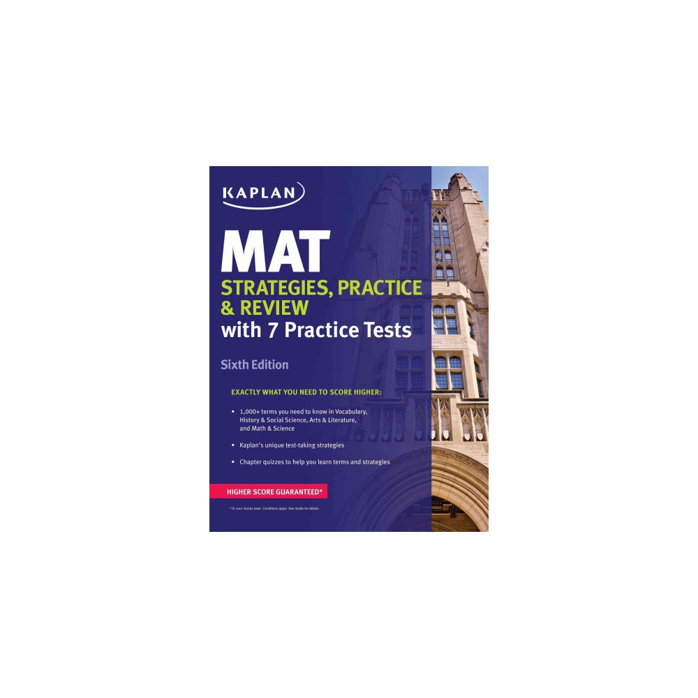 Mat : Strategies, Practice, and Review (Paperback)