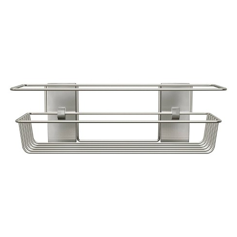 Command Metal Shower Caddy Satin Nickel - image 1 of 3