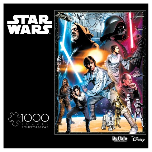 Buffalo Games Star Wars Puzzle 1000pc - image 1 of 3