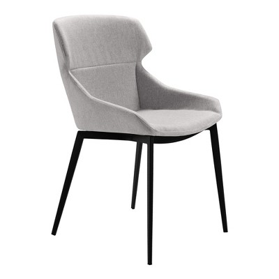 Set of 2 Sitka Modern Dining Chair Gray - Modern Home