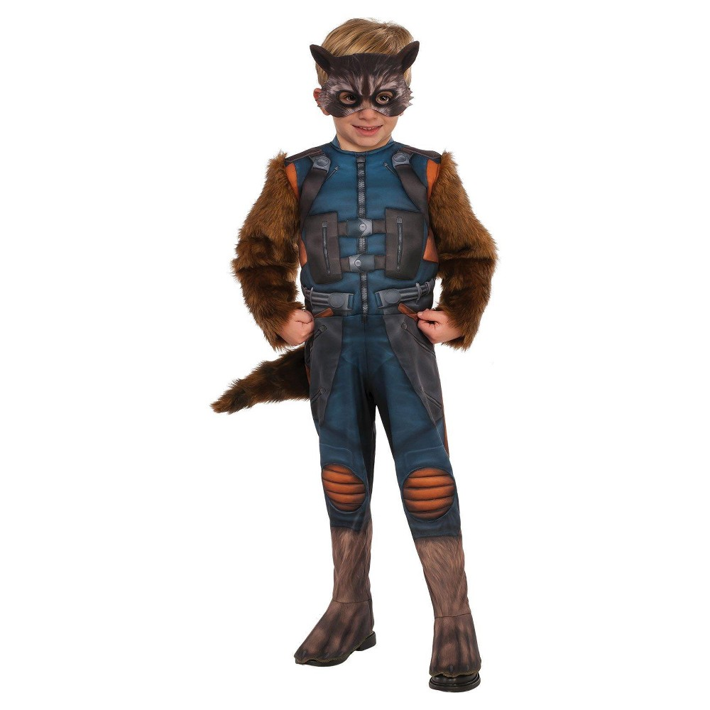 Kids' Guardians of the Galaxy Vol. 2 - Rocket Toddler Costume One Size, Toddler Boy's