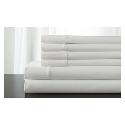 Kerrington Cotton 800 Thread Count Sheet Set (King)White - Elite Home Products