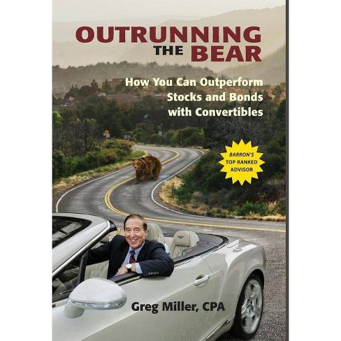 Outrunning the Bear - by  Greg Miller (Hardcover) - image 1 of 1