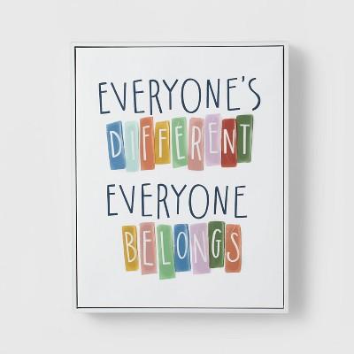 Everyone Belongs Wall Art - Pillowfort™