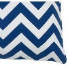 """18""""x18"""" Poly Filled Chevron Square Throw Pillow - Rizzy Home - image 3 of 3"""