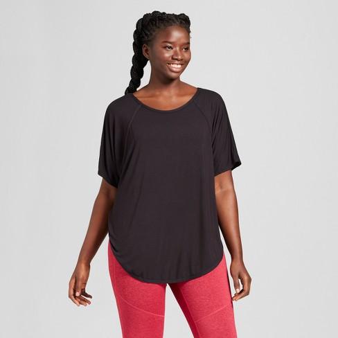 f6dd8286af04 Women s Plus Size Dolman Open Back T-Shirt - JoyLab™   Target