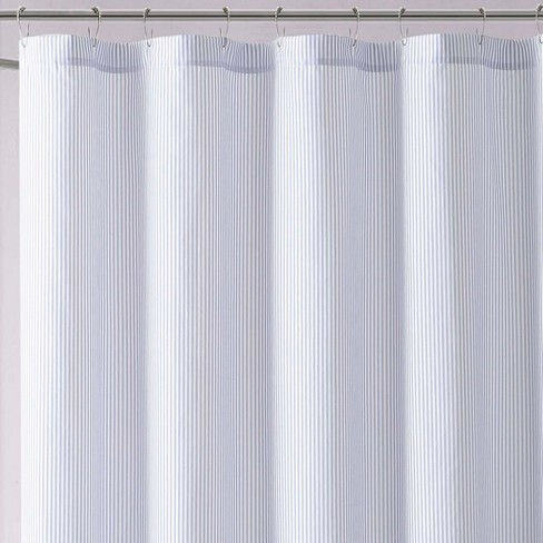 Anytime Striped Shower Curtain