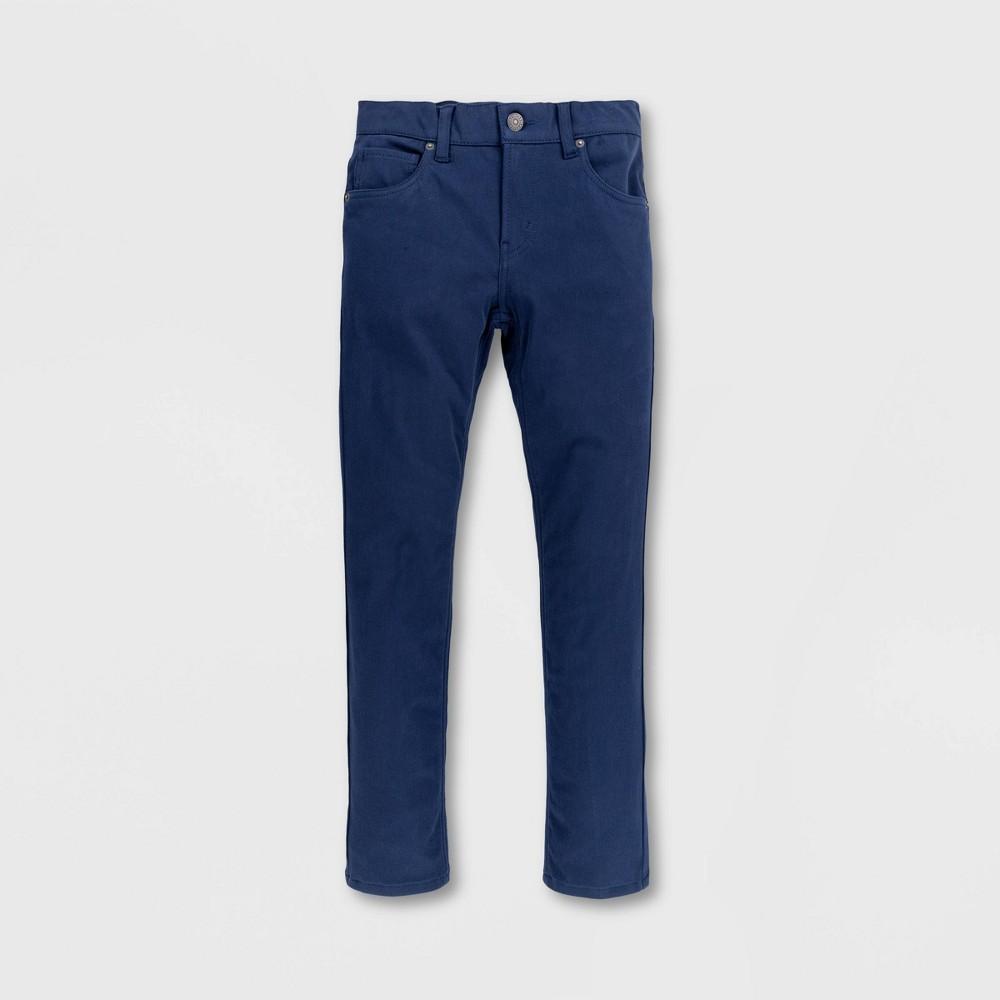 Levi 39 S 174 Boys 39 512 Slim Taper Fit Wonder Knit Chino Pants Dress Blues 7