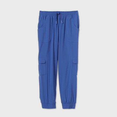Girls' Stretch Woven Capri Jogger Pants - All in Motion™