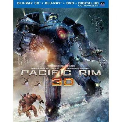 Pacific Rim (3D + 2D) (Blu-ray + DVD + Digital)
