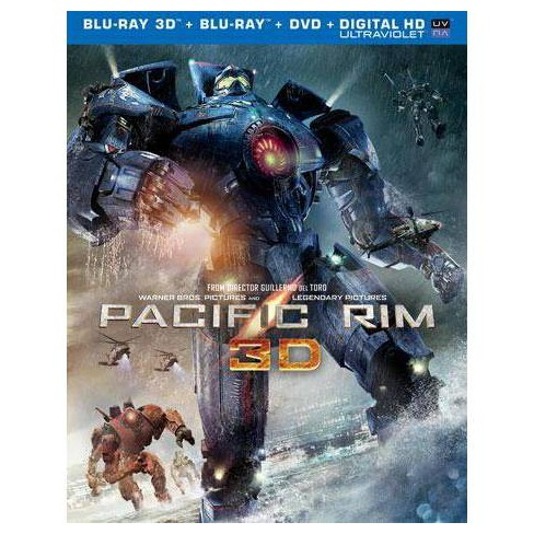 Pacific Rim (3D + 2D) (Blu-ray + DVD + Digital) - image 1 of 1