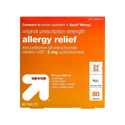 Levocetirizine Allergy Relief Tablets - up & up™