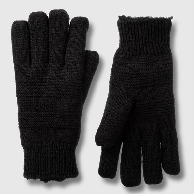 Isotoner Women's Water Repellent Lined Knit Gloves - One Size