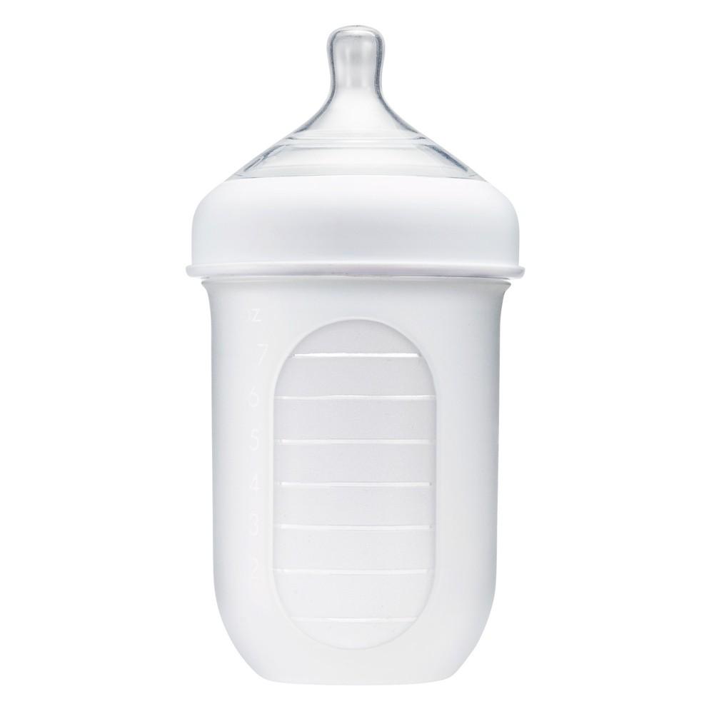 Boon Nursh 8oz Bottle - Clear