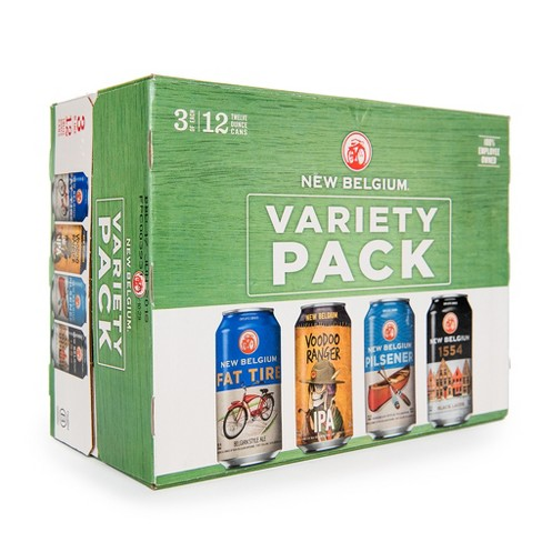 New Belgium® Variety Pack - 12pk / 12 fl oz Cans - image 1 of 1