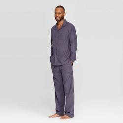 Men's Striped Woven Pajama Set - Goodfellow & Co™ Geneva Blue