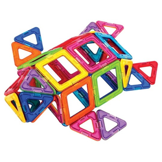 Magformers Magnetic Power Magic Rainbow Set - 62pc image number null