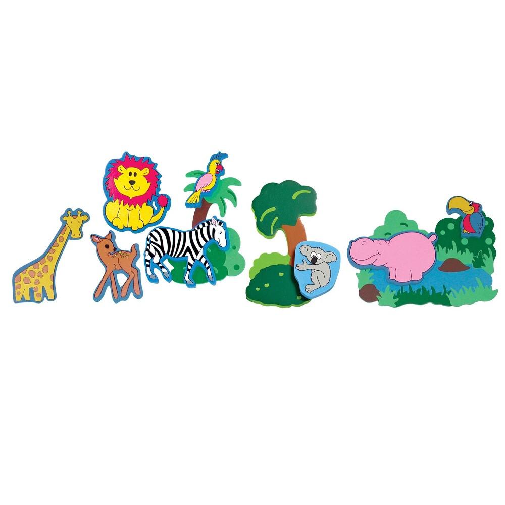 Edushape Magic Creations Bath Playset Jungle Fun