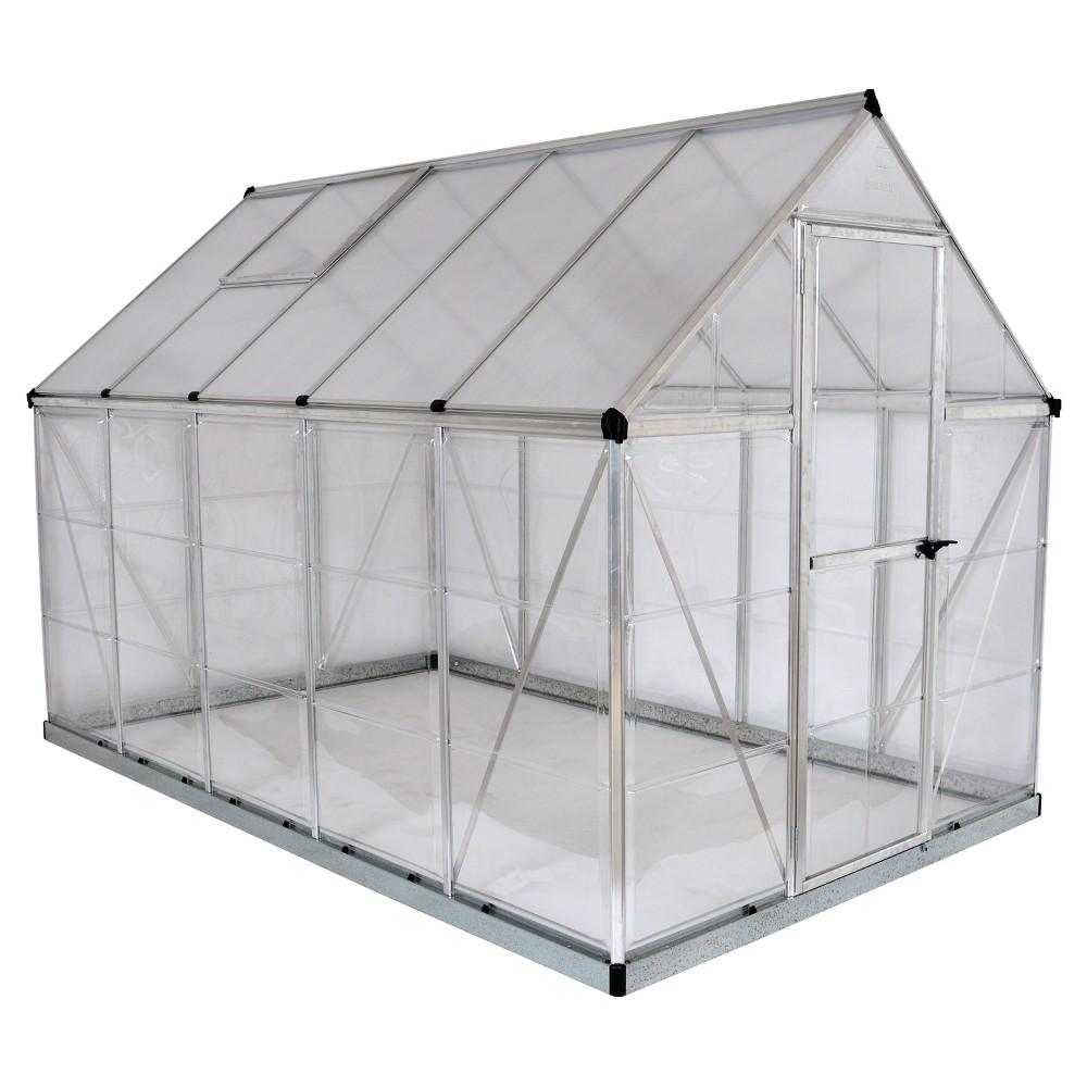 6'X10 Hybrid Greenhouse - Silver - Palram