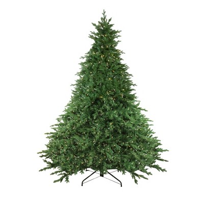 Northlight 9' Pre-Lit Artificial Christmas Tree LED Instant Connect Minnesota Balsam Fir - Clear Lights