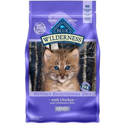 Cat Food: Blue Buffalo Wilderness Kitten