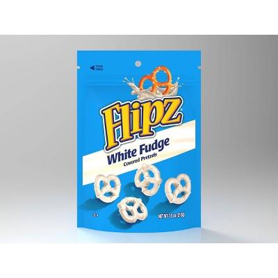 Flipz White Fudge Covered Pretzels - 7.5oz