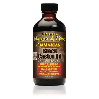 Jamaican Mango and Lime Black Castor Oil  - 4 fl oz