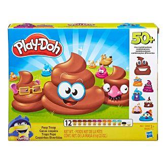 Play-Doh Poop Troop Set with 12 Cans