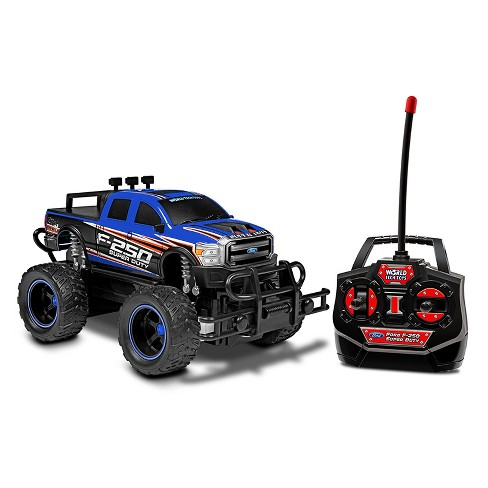 Ford F-250 Heavy Duty Electric Remote Control RC Monster Truck - 1:24 Scale - image 1 of 1