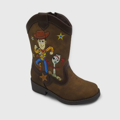 Size 8 Disney/'s Toy Story 4 Boys/' Western Woody Boots New in Box