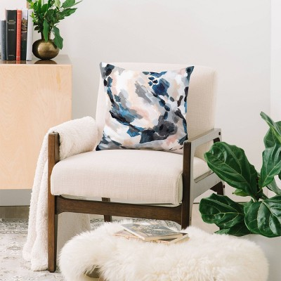 Laura Fedorowicz Abstract Throw Pillow Blue - Deny Designs : Target