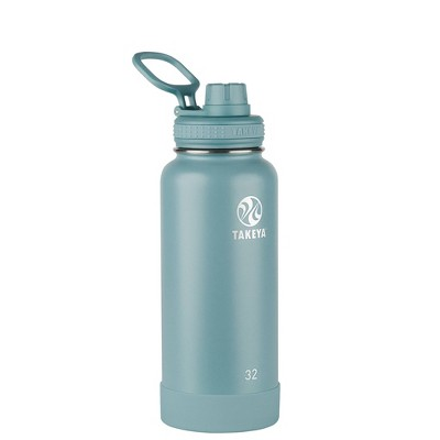 Takeya 32oz Actives Insulated Stainless Steel Bottle with Spout Lid - Sage