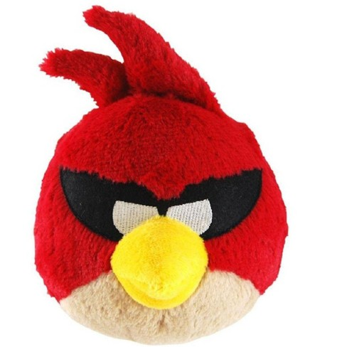 "Commonwealth Toys Angry Birds 5"" Red Space Bird Plush Officially Licensed - image 1 of 1"