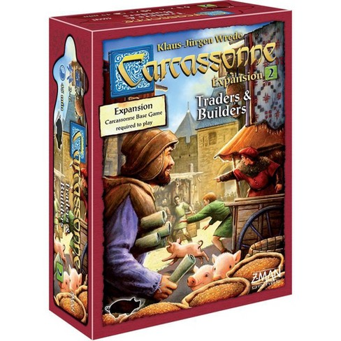 Carcassonne Strategy Board Game Traders & Builders Expansion Pack - image 1 of 2