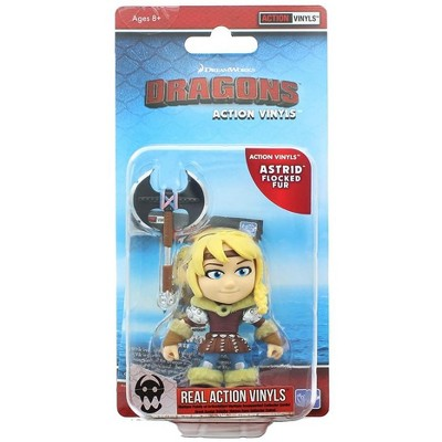 "The Loyal Subjects How To Train Your Dragon 3.25"" Action Vinyl: Astrid (Flocked Fur)"