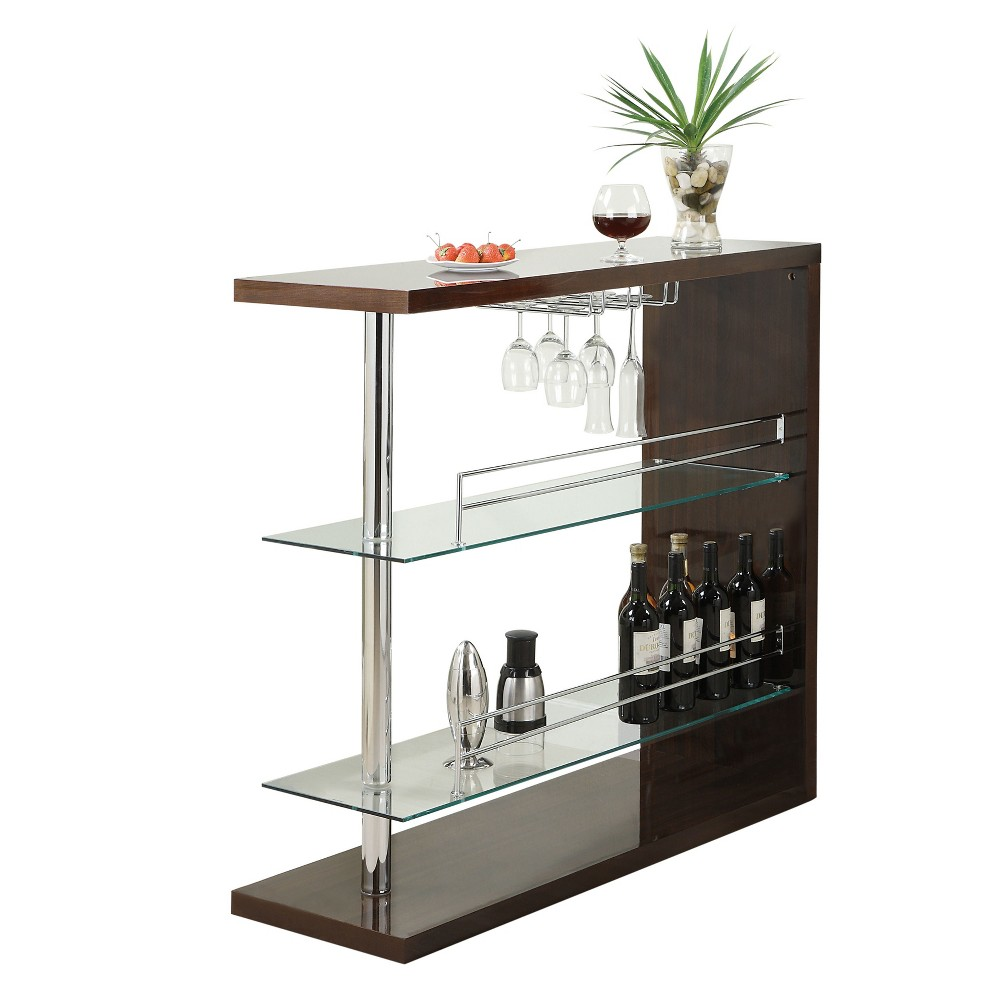 Private Reserves Bar Unit Glossy Cappuccino