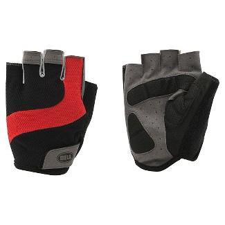 Bell Ramble 500 Half Finger Bike Gloves (Small/Medium) - Black/Red